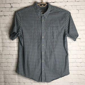 Eddie Bauer plaid button down shirt